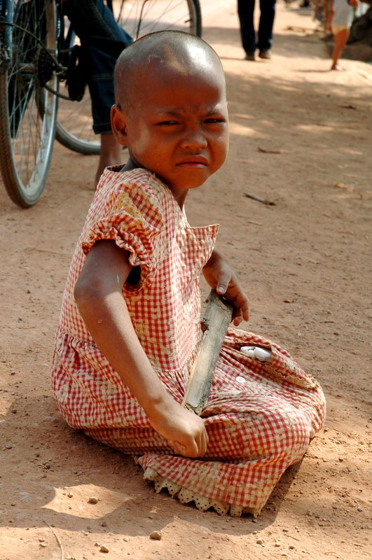 Combodia little girl