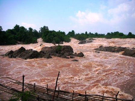 Water Fall on the Mekong