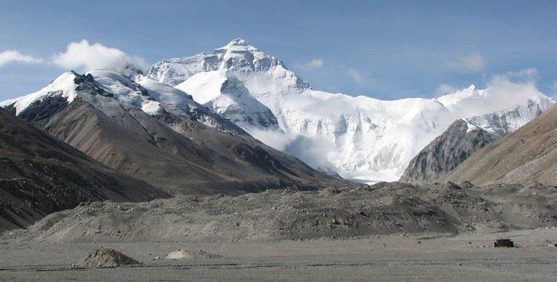 Mount Everest from Basecamp