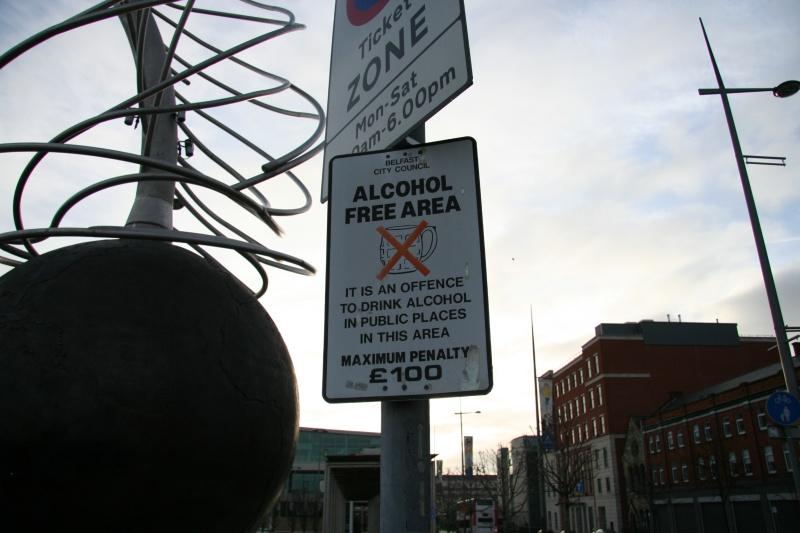 Alcohol Free Area