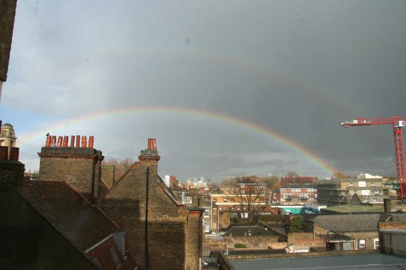Double Rainbow over London
