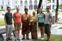 Newlywed couple we met at Putrajaya