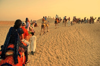 Desert Safari at Jaisalmer