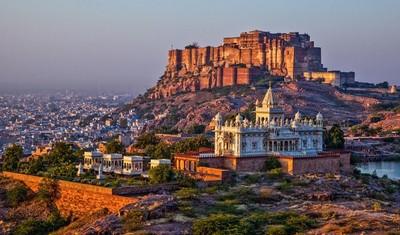 View of Mehrangarh Fort at Jodhpur