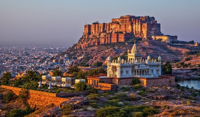 View of Mehrangarh Fort at Jodhpur