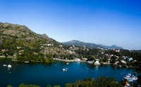 View of Hill Station Mount Abu Rajasthan India