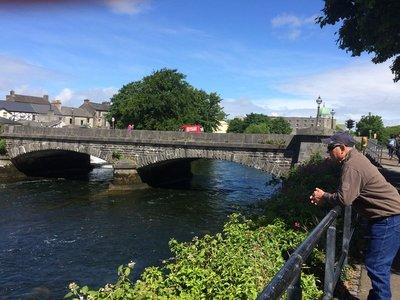 Obrien's Bridge over Corrib River Galway