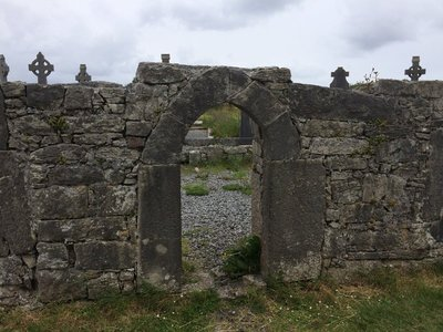 site of the seven churches on Inis More