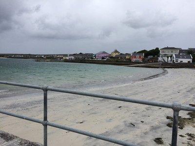 Beach at Inis Mor Aran Island