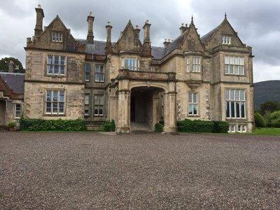The Big House at Muckross House Killarney