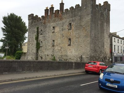 Castle? at the town bridge Athy