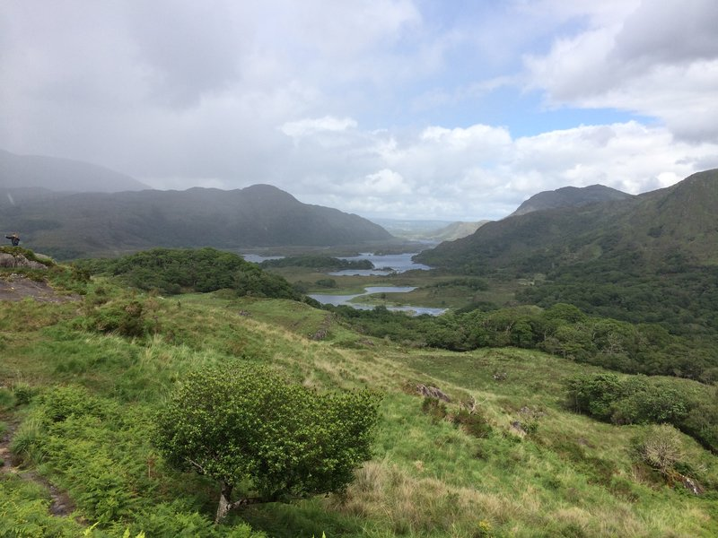 View of mountains in Killarney National Park