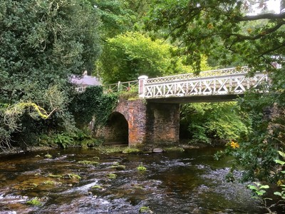 Old 19th Century bridge over the River Barle
