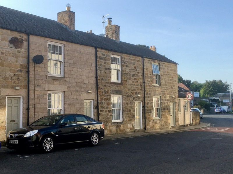 Our accommodation in Hexham