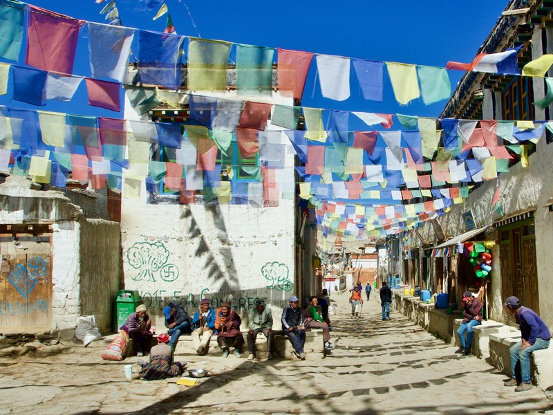 Street view in Lo Manthang