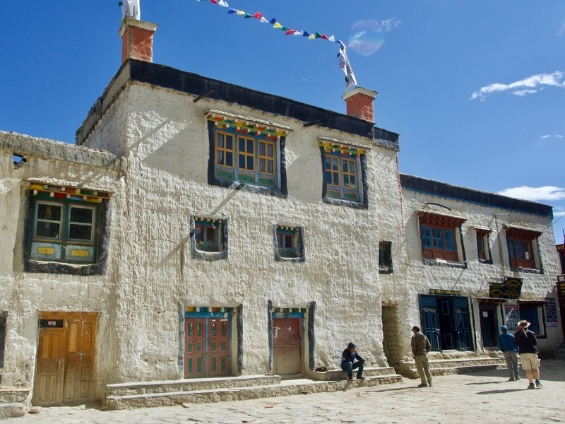 Tourist information building in Lo Manthang