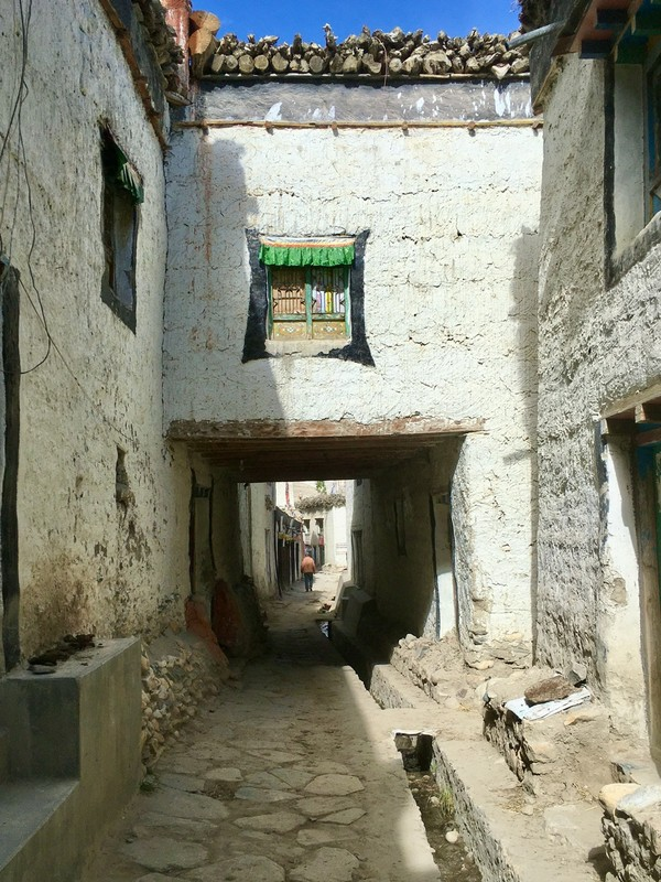Street of Lo Manthang