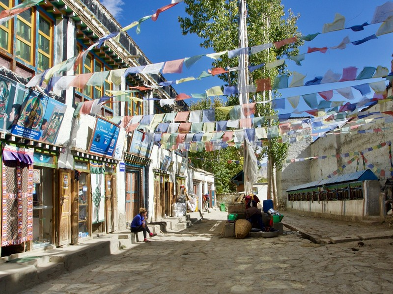 Street in Lo Manthang