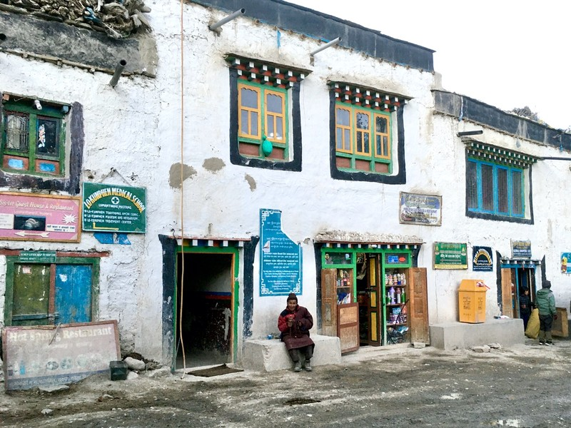 Lo Manthang street