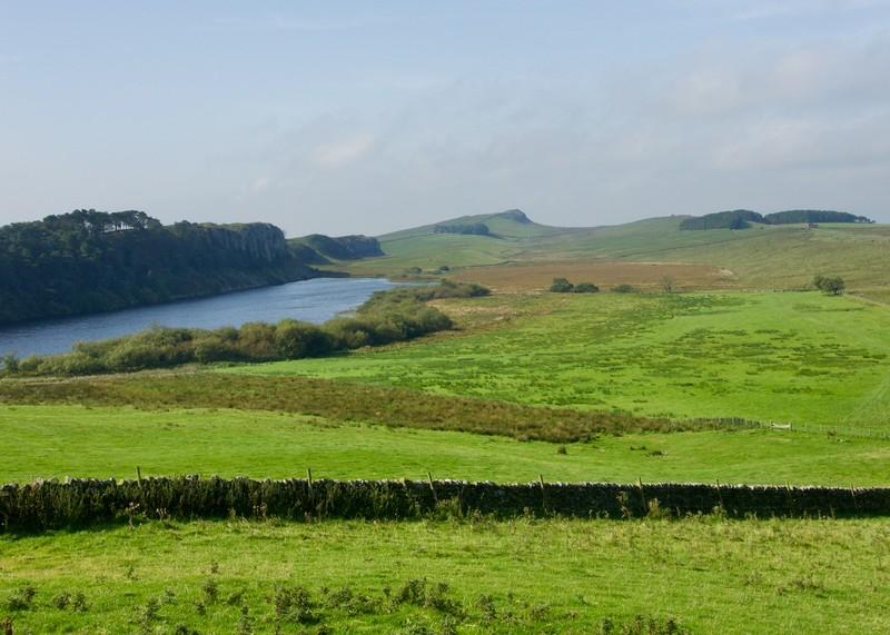 View towards Hadrians wall