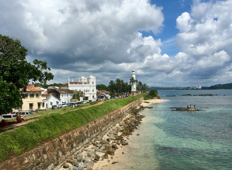 Galle from the ramparts