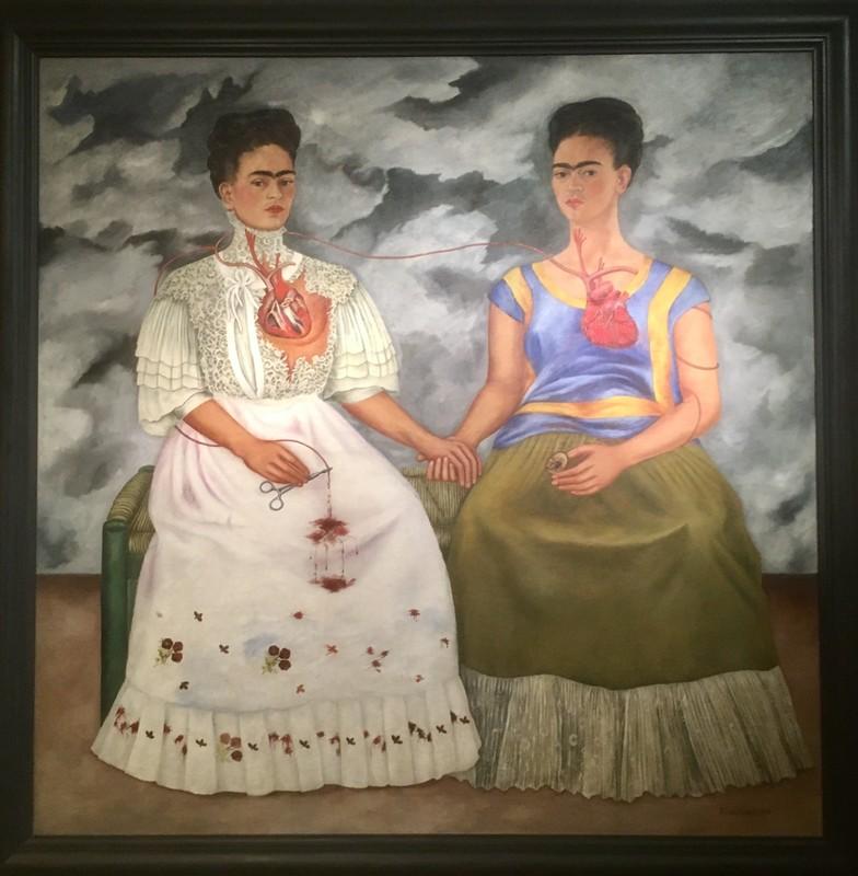 Frida Kahlo famous self portrait