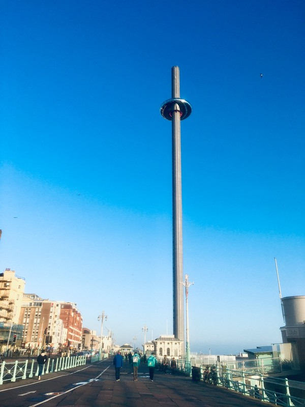 The same tower i360 (aka the Donut by the local) 162 meters or 450 feet
