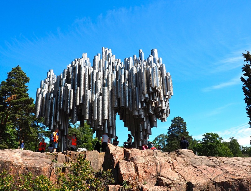Sibelius Monument (Sibelius was a Finish and Violinist Composer)