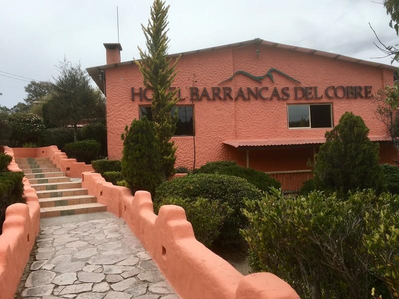 Our hotel at Divisadero