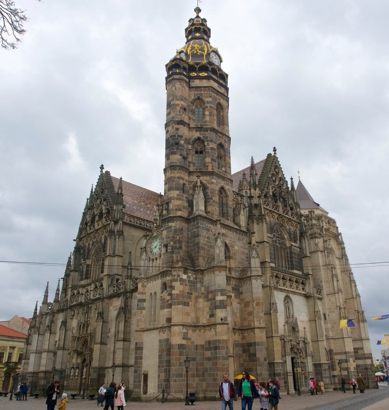 St Elizabeth Gothic Cathedral in Košice