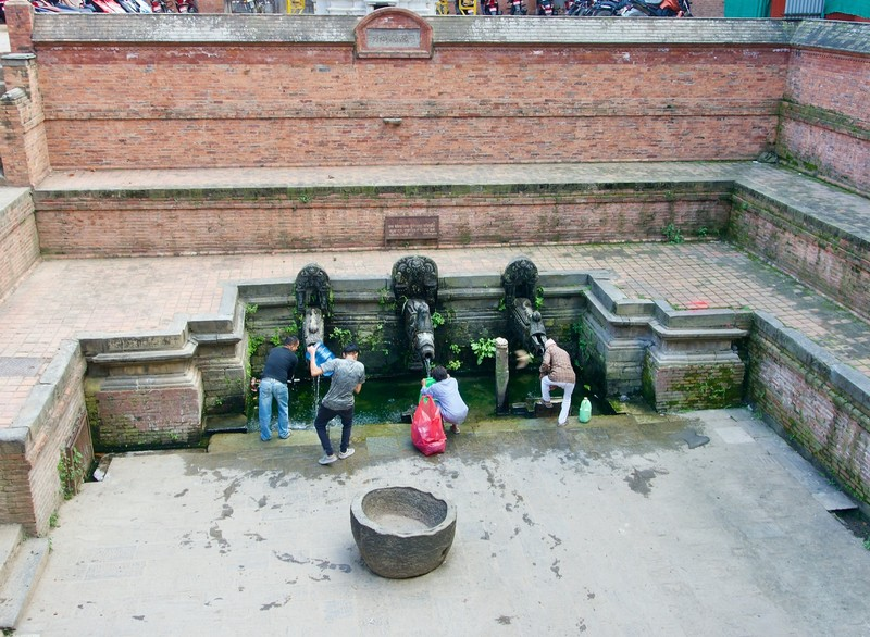 Patan public bath