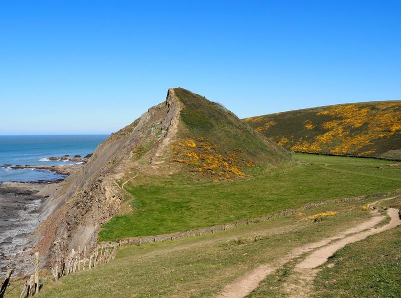 Coastal Scenery on our cliff walk