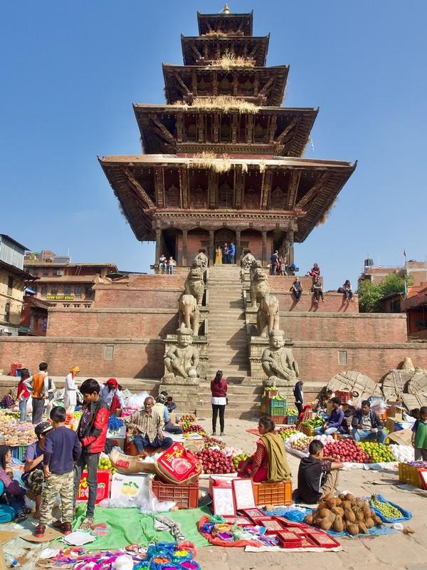 5 Story pagoda in Bhaktapur