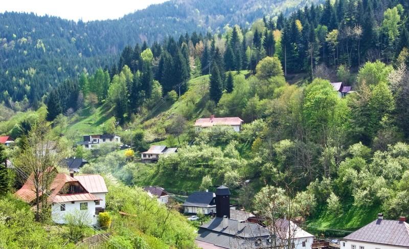 Špania Dolina village