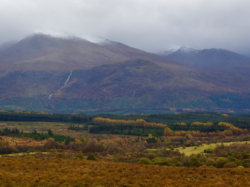Ben Nevis from the Commando Memorial