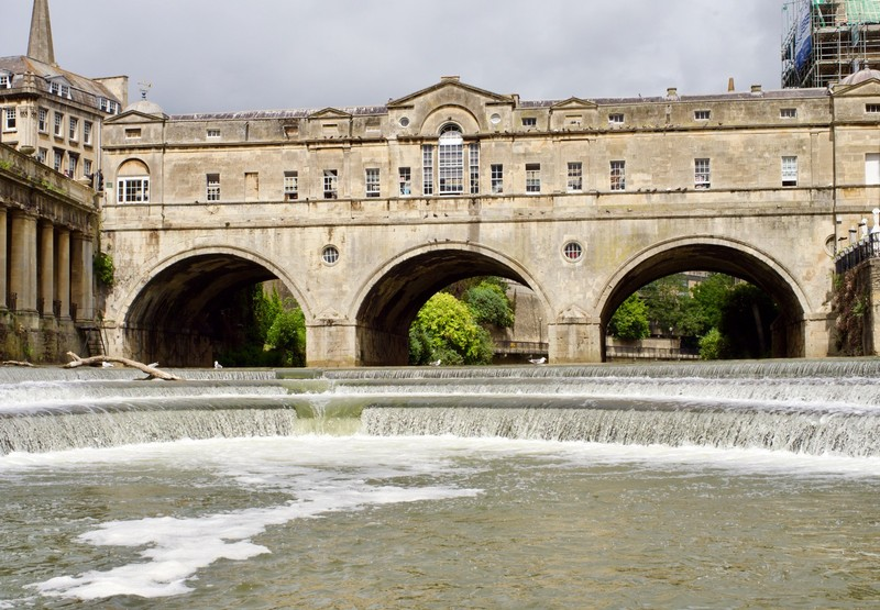 Pulteney Bridge from the boat
