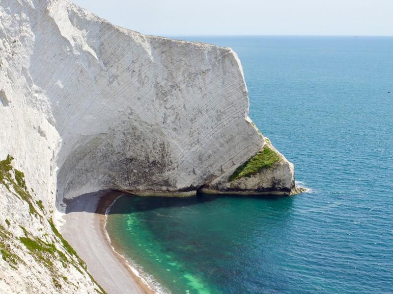 Chalk Cliffs at the Needles