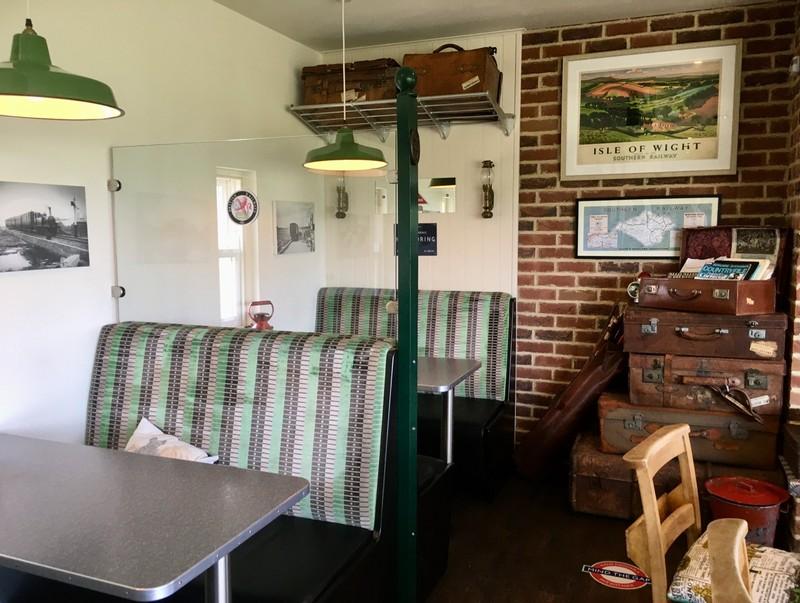 "Insight ""Off the Rails"" restaurant"
