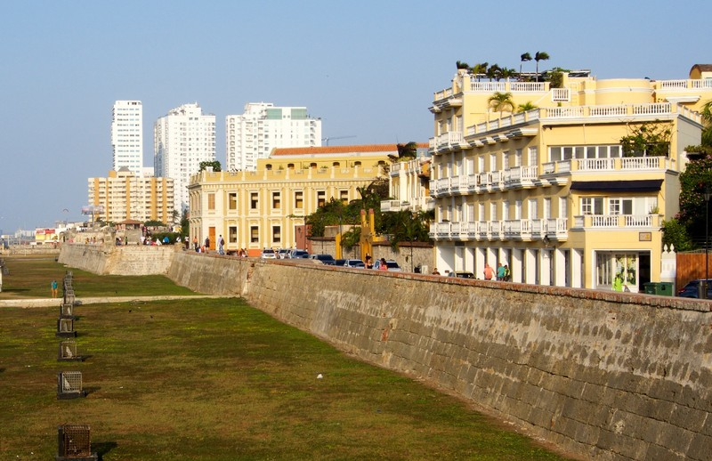 Fortification of old Cartagena