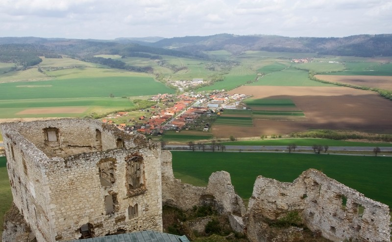 View from Spis Castle