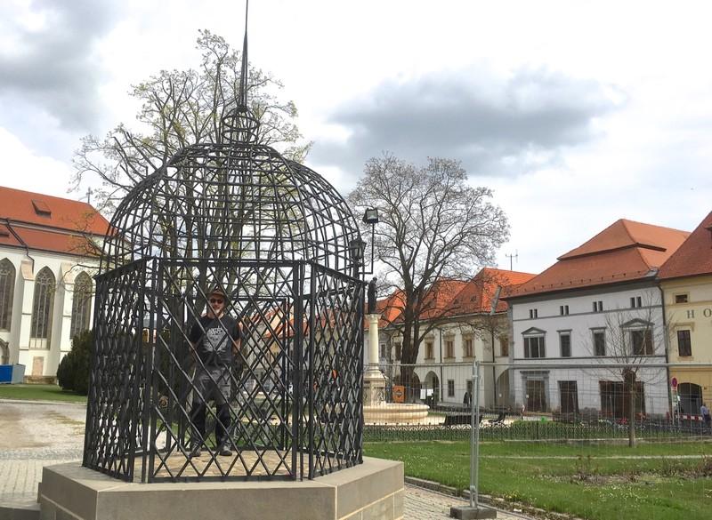 Cage of Disgrace in Levoča
