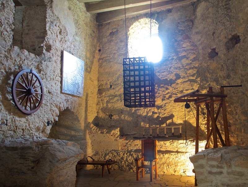 Torture chamber of Spis Castle