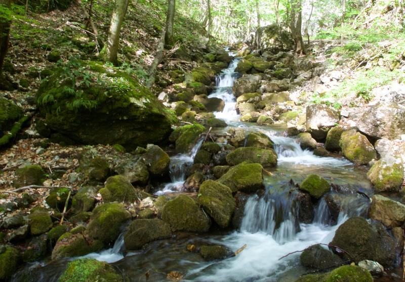 In the Zádielska gorge