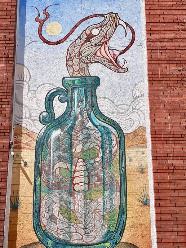 Chihuahua Street Art