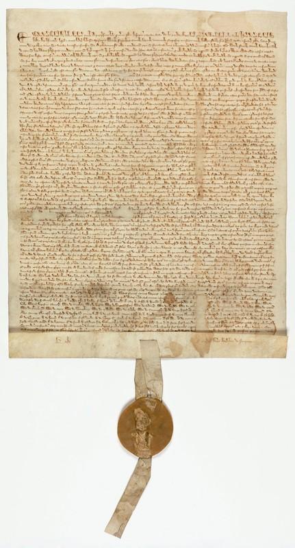 The Magna Carta, original document