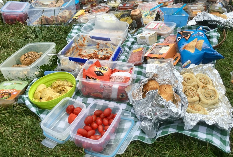 Picnic by the river Thames