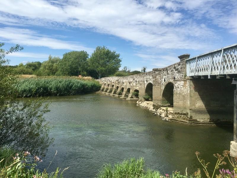 Bridge over the river Arun near Greatham
