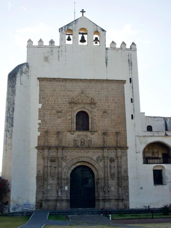 Monastery Acolman from Conquistador period