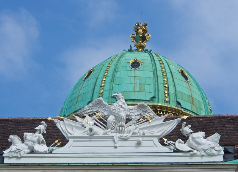 Cupola of the Hofburg Building