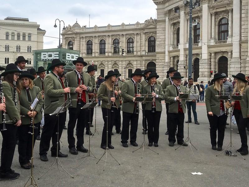 Austrian Band in Vienna